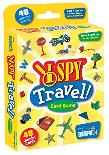 I SPY Travel Card Game for Kids
