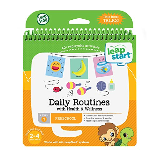 LeapFrog LeapStart Daily Routines and Health and Wellness Book