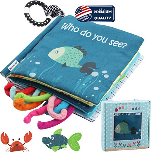 Sea Animal Fabric Cloth Book