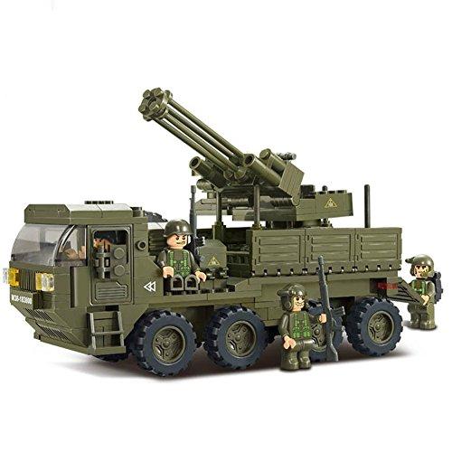 Sluban M38-B0302 Heavy Transporter Building Block Construction Set (306Piece)