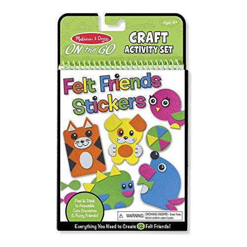 Melissa & Doug On-the-Go Crafts - Felt Friends