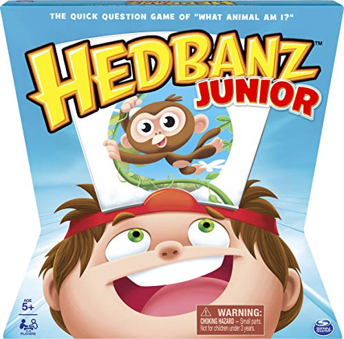 HedBanz Junior Family Board Game for Kids Age 5 and up