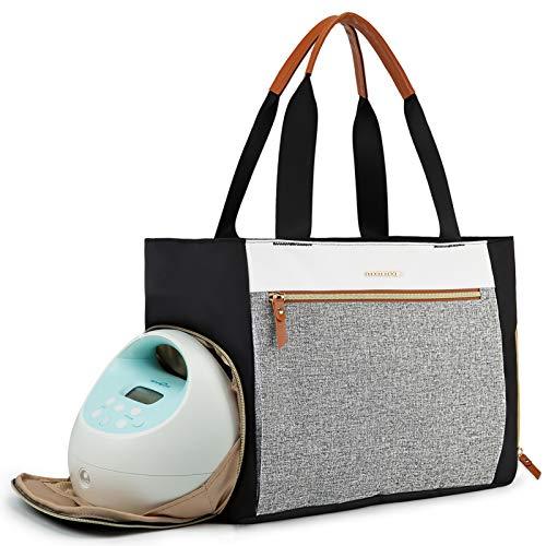 mommore Breast Pump Bag Diaper Tote Bag