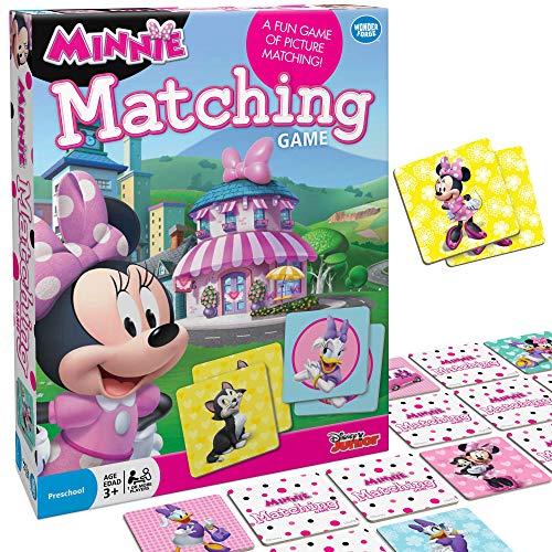 Wonder Forge Disney Junior Minnie Matching Game,Multi-colored