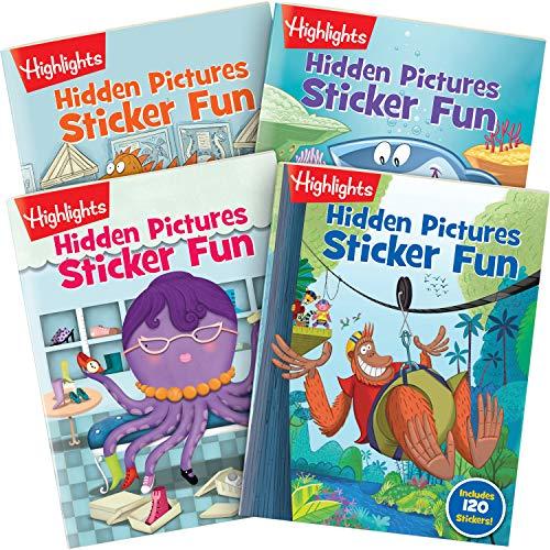 Highlights Hidden Pictures Sticker Fun Books