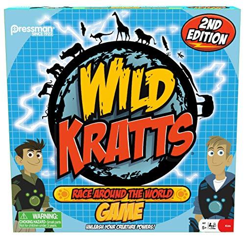 Wild Kratts: Race Around the World Board Game