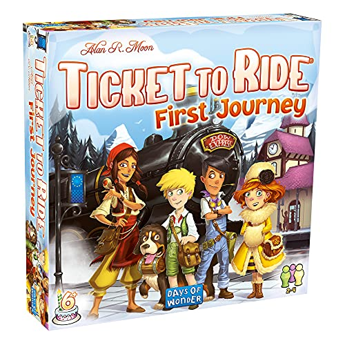 Ticket to Ride - Europe - First Journey