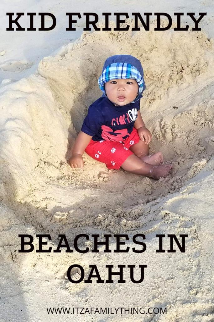 Pinterest_Kid-Friendly Beaches Oahu