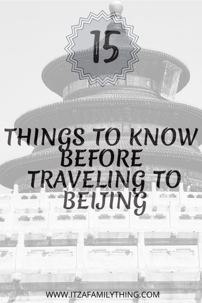 Pinterest Things to know before traveling to Beijing