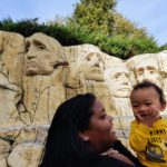 LEGOLAND Mt Rushmore Mommy n Baby