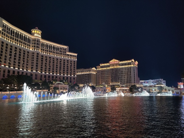Fountain of Bellagio in Las Vegas