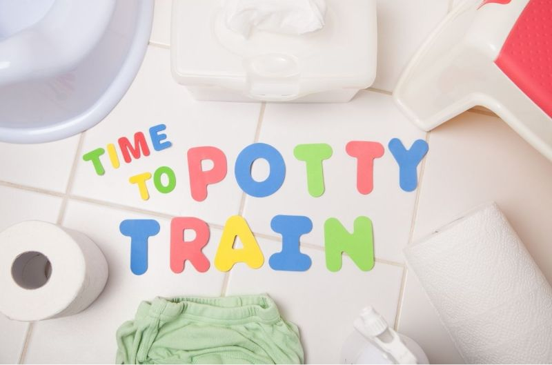 time to potty train on the go