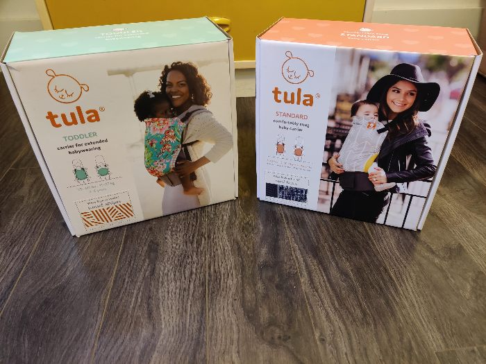 Unboxing Tula Carriers