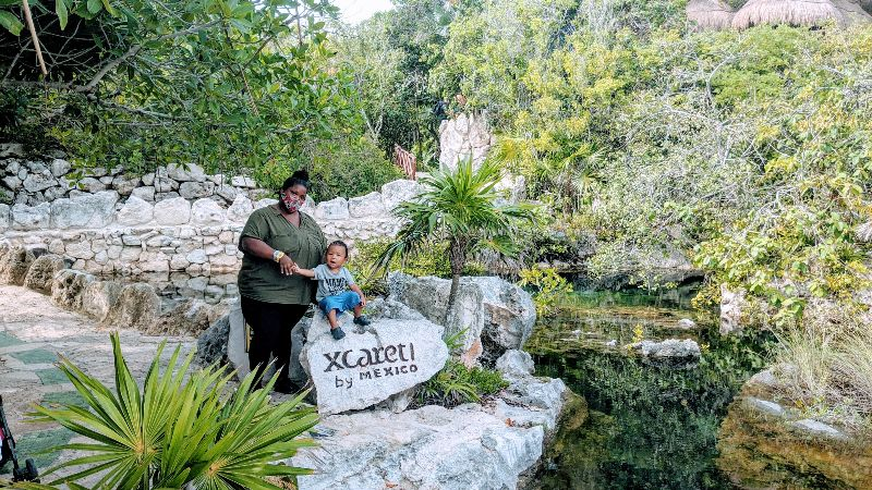 xcaret park with kids