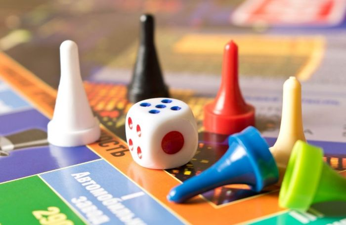 travel board game pieces