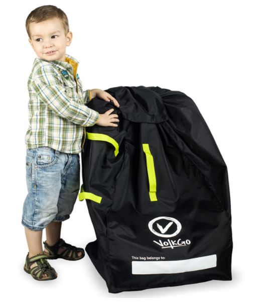The Best Car Seat Travel Bags For, Zohzo Adjustable Padded Bag For Car Seat